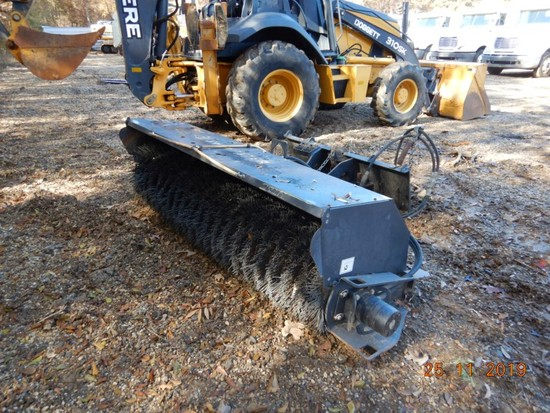 SWEEPSTER 22084MM-0022 SKID STEER MOUNT SWEEPER,  WITH WATER TANK