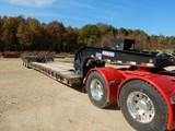 2013 PITTS LB55-24D RGN LOWBOY TRAILER,  55 TON CAPACITY, SELF CONTAINED, H