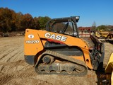 CASE TR270 TRACK STEER LOADER, 575 HRS  OROPS, RUBBER TRACKS, AUX. HYDRAULI