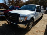 2012 FORD F150 PICKUP TRUCK, 110,802 MILES  CREW CAB, V8 GAS, AT, PS, AC S#