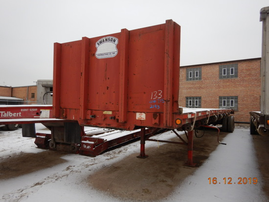 2001 FONTAINE STRETCH TRAILER,  SLIDING TANDEMS, RAYCO SUSPENSION, 11R24.5