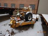 1979 GENERAL/STIGERS EQUIPMENT TRAILER,  PINTLE HITCH, TANDEM AXLE, SINGLE