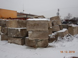 LOT OF CONCRETE BARRIERS