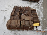 PALLET OF PANDROL TIE PLATES