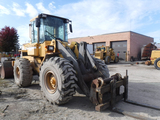 1994 MICHIGAN/VOLVO L70B WHEEL LOADER, 20,694 hrs,  CAB, ARTICULATED, FORKS
