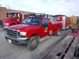 2001 FORD F450 SUPER DUTY MECHANICS TRUCK, 79,000 miles,  POWER STROKE DIES