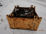 READING BOX WITH LIFTING CHAIN, CABLE, CLEVIS AND TONGS