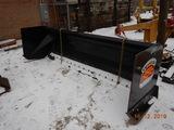 SKID PRO SNOW PUSHER,  FOR END LOADER  NEW