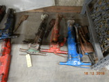 (3) BREAKING HAMMERS,  AIR OPERATED