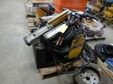 GEISMAR SPIKE PULLER,  HYDRAULIC POWER PACK, (3) SPIKE PULLERS AND HOSE LOA