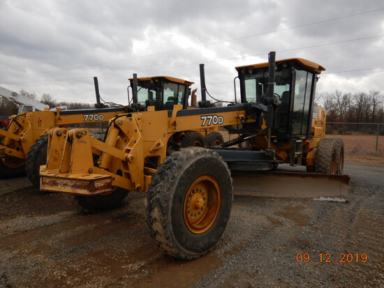 Lonoke Contractors' Auction  - ONE DAY ONLY ONLINE