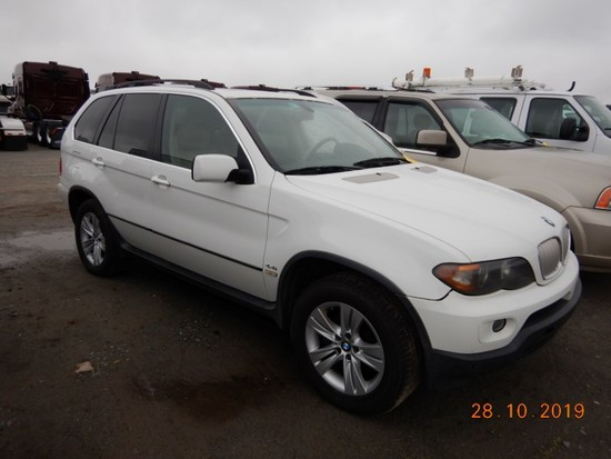 2005 BMW X5 SUV,  4-DOOR, 6-CYL GAS, AUTOMATIC, PS, AC S# 4980
