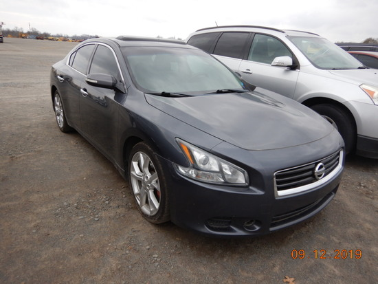 2013 NISSAN MAXIMA CAR, 177,498+ mi,  4-DOOR, V6 GAS, AUTOMATIC, PS, AC S#