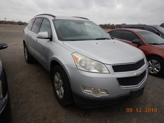 2011 CHEVROLET TRAVERSE SUV 162,525+ mi,  V6, AUTOMATIC, PS, AC S# 58077