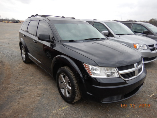 2009 DODGE JOURNEY SUV, 76,363 miles  V6 GAS, AT, PS, AC S# 97320