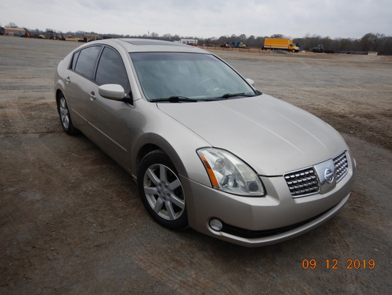 2005 NISSAN MAXIMA CAR, 152,339+ mi,  4-DOOR, V6 GAS, AUTOMATIC, PS, AC S#