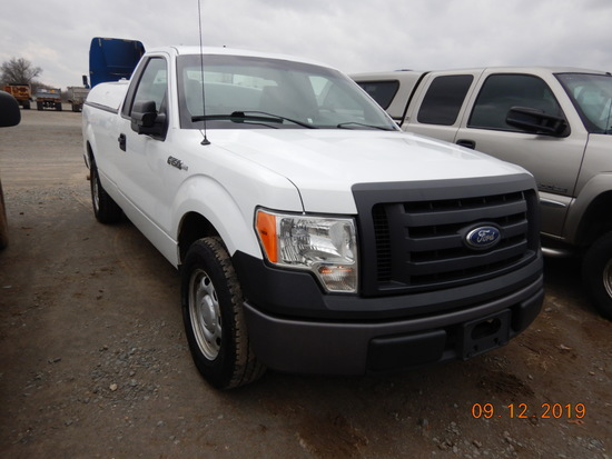 2012 FORD F-150 TRUCK, 205,298+ mi,  V6, AUTOMATIC, PS, AC S# 09367