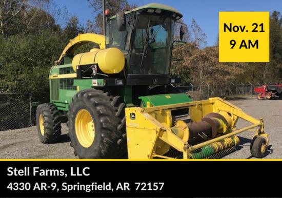 STELL FARMS, LLC AUCTION