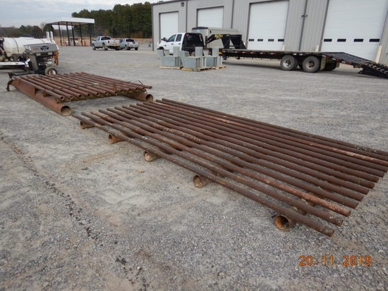 CATTLE GUARD,  16', PIPE