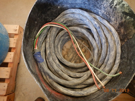 BARREL OF HEAVY DUTY CABLE WIRE