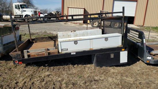 """12' X 96"""" STEEL FLATBED"""