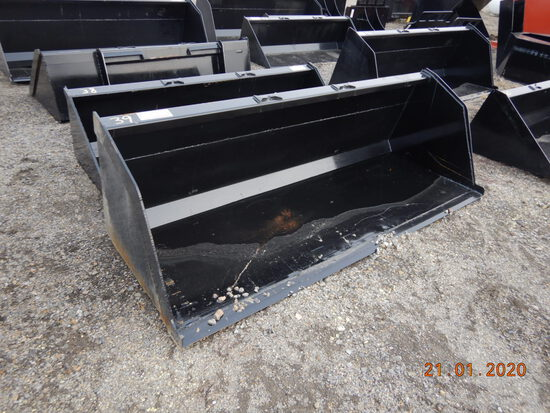"90"" BUCKET  FOR SKID STEER FOR SNOW/MULCH"