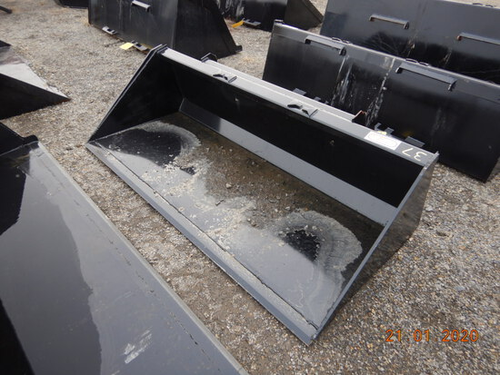"78"" BUCKET  FOR SKID STEER WITH SINGLE BLADE"