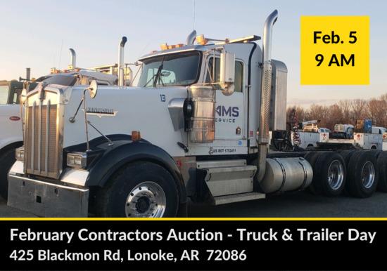 Lonoke Contractors' Auction Truck & Trailer Day