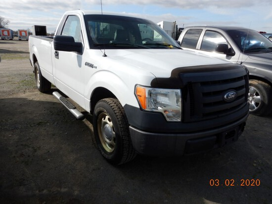 2011 FORD F-150 TRUCK, 220,405+ mi,  V8 GAS, AUTOMATIC, PS, AC S# 83447