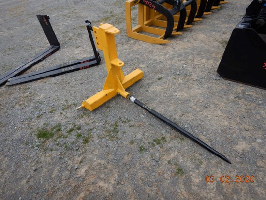 3-PT HITCH,  TRAILER MOVER WITH HAY SPEAR