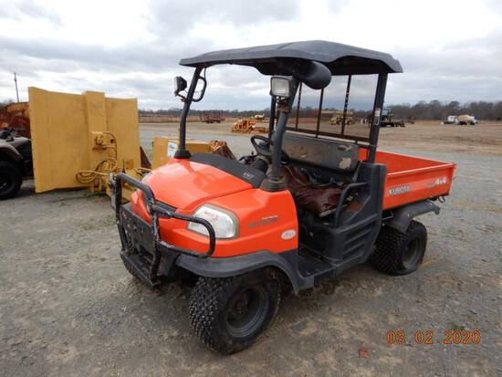 KUBOTA RTV900 ATV,  SIDE BY SIDE, KUBOTA DIESEL, 4 X 4 S# KRTV900A41015440
