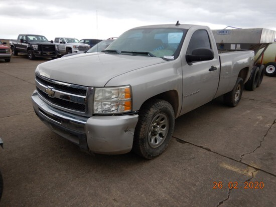 2008 CHEVROLET 1500 TRUCK, 154863+miles  V8 GAS, AUTOMATIC, 4WD, PS, AC S#