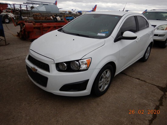 2012 CHEVROLET SONIC-LT CAR, 174990+miles  4 CYLINDER, AUTOMATIC, PS, AC S#