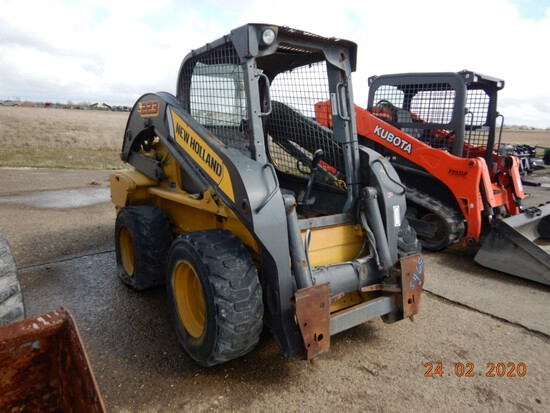2011 NEW HOLLAND L223 SKID STEER, n/a hours  ORPS, FOOT CONTROL, S# JAF0L22