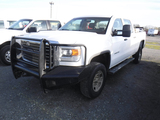 2015 GMC SIERRA 2500HD PICKUP TRUCK,  4-DOOR, 4X4, V8 GAS, AT, PS, AC, CRUI