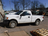 2014 FORD F150XL PICKUP TRUCK, 175,281 MILES  4X4, SINGLE CAB, GAS, AUTOMAT