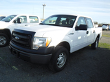 2014 FORD F150XL PICKUP TRUCK, 182,232 MILES  4X4, 4-DOOR, GAS, AUTO, S#1FT