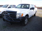 2014 FORD F150XL PICKUP TRUCK, 168,405 MILES  4X4, 4-DOOR, GAS, AUTO, S#1FT