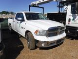 2014 DODGE RAM 1500 PICKUP TRUCK, 160,730 MILES  1/2 TON, 4X4, 4-DOOR, HEMI