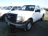 2013 FORD F150 PICKUP TRUCK, 182,373 MILES  2-DOOR, 4X4, GAS, AUTO, PS, AC,