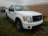 2013 FORD F150 PICKUP TRUCK, 246K+ MILES  2-DOOR, 4X4, GAS, AUTO, PS, AC, C