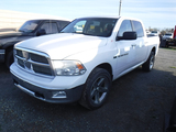 2012 DODGE RAM 1500 PICKUP TRUCK, 215K+ MILES  4X4, 4-DOOR, BIG HORN, HEMI