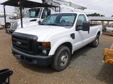 2009 FORD F250 PICKUP TRUCK, 272K+ MILES  SINGLE CAB, GAS, AUTO,  S#1FTNF20