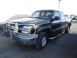 2004 CHEVROLET 1500-Z71 OFFROAD PICKUP TRUCK, 258K+ MILES  4X4, EXTENDED CA