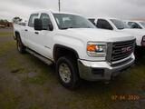 2015 GMC 2500HD SIERRA PICKUP TRUCK, 164,899 MILES  4X4, CREW CAB, V8 GAS,