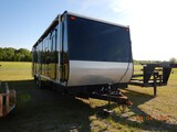 2010 KUNTRY KUSTOM, MOBILE OFFICE TRAILER,  32', BUMPER PULL, CUSTOM CABINE