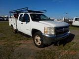 2009 CHEVROLET 2500 SERVICE TRUCK, 310k+miles on meter  RAILROAD SETUP, EXT