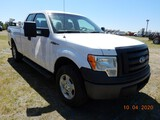 2011 FORD F150 PICKUP TRUCK, 212K+ MILES  4X4, EXTENDED CAB, V8 GAS, AT, PS