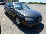 2003 NISSAN MAXIMA CAR, 143k+ miles  V6 GAS, AT, PS, AC S# JN1DA31DX3T51151
