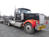 2000 WESTERN STAR TRI-AXLE HAUL TRUCK, 999,000+ MILES ON METER  DAY CAB, CA